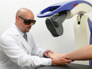 MLS laser therapy for pain relief