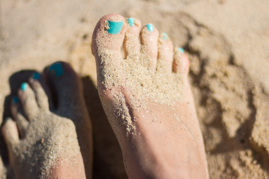 Prevent Diabetic Ulcers by covering feet
